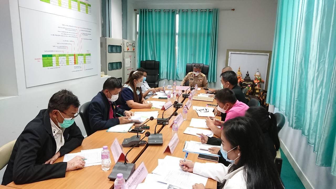 สำนักงานแรงงานจังหวัดนครพนม ร่วมประชุมคณะกรรมการประสานการข่าวยาเสพติด (โต๊ะข่าวยาเสพติด)